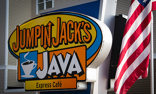 Jumpin Jack's Java Sign